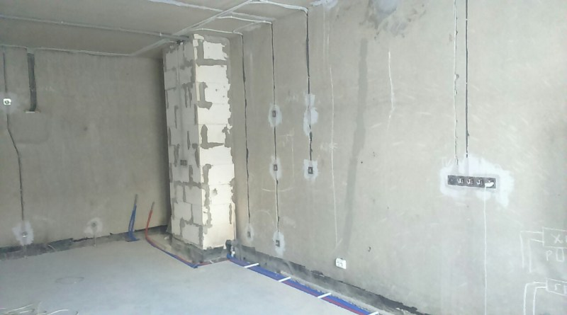 Электромонтаж в каменных домах
